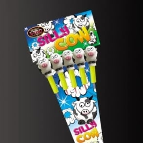 Bright Star Fireworks Silly Cow Rockets - Pack of 5