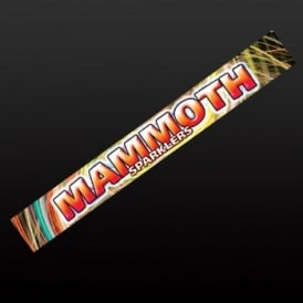 18'' Mammoth Sparklers - 5 x Packs (of 4)