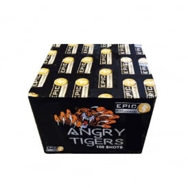 Angry Tigers - 100 shot firework