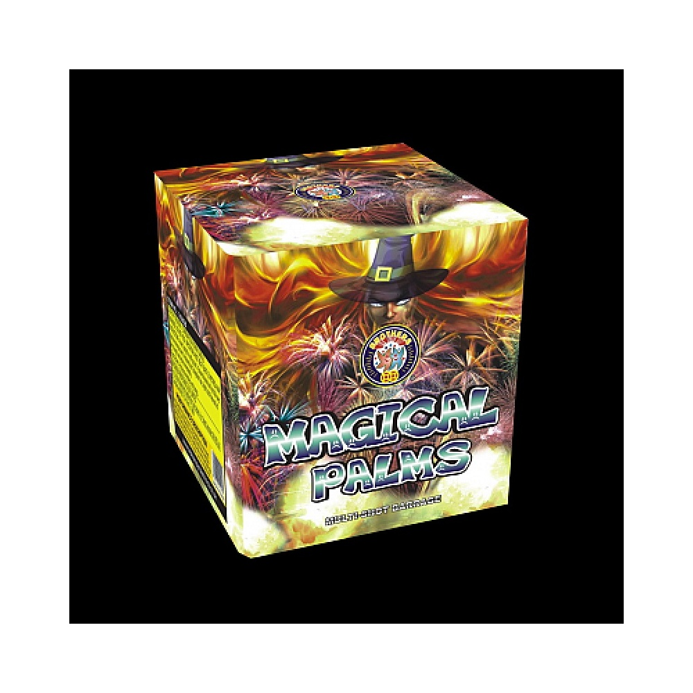 Brothers Pyrotechnics Magical Palms - 36 shot firework - Brothers Pyrotechnics from Fireworks ...
