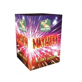 Mayhem - 25 shot firework