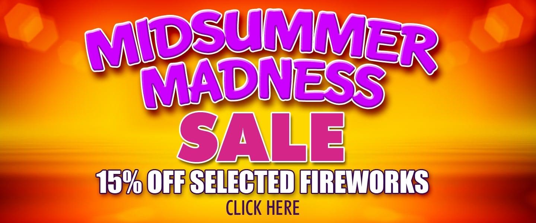 Midsummer Madness Sale