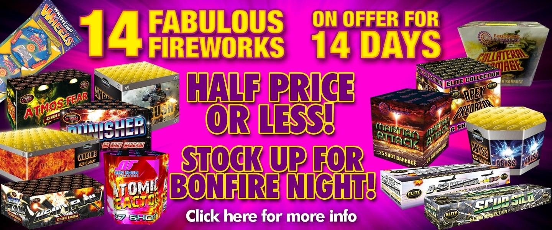 14 Fabulous Fireworks