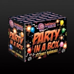 Party in a Box - 32 Shot Single Ignition Firework