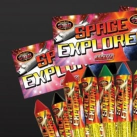 Space Explorer Rockets - Pack Of 5