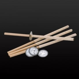 Wax Procession Torches 60 min - 10 Packs of 5 (50)